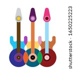 Colorful Design Isolated On A...