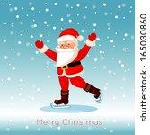 santa claus  | Shutterstock .eps vector #165030860