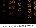 yellow vector texture with...   Shutterstock .eps vector #1650367393