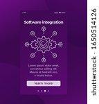 software integration  mobile...