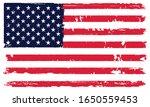 old vintage flag of the united...   Shutterstock .eps vector #1650559453