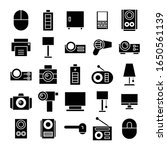 electronic device and appliance ... | Shutterstock .eps vector #1650561139