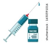 icon of a medical ampoule with...   Shutterstock .eps vector #1650591016