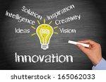 innovation   business concept | Shutterstock . vector #165062033