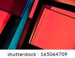 abstract church windows | Shutterstock . vector #165064709