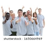 group of young people showing...   Shutterstock . vector #1650664969