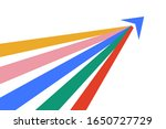 isometric arrow formed by...   Shutterstock .eps vector #1650727729