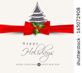 Happy Holidays Concept With...