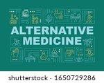 alternative medicine word...