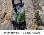 close up equipment of rock... | Shutterstock . vector #1650748606