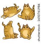 Set. Fat Lazy Cat. Sports...