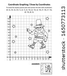 coordinate graphing  or draw by ... | Shutterstock .eps vector #1650773113