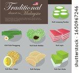 traditional dessert food in...   Shutterstock .eps vector #1650967246