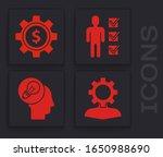 set human with gear inside ...   Shutterstock .eps vector #1650988690