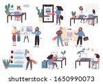 top future business ideas in...   Shutterstock .eps vector #1650990073