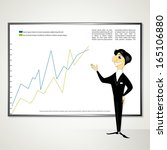business manager project raster ... | Shutterstock . vector #165106880