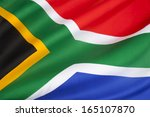 the flag of the republic of... | Shutterstock . vector #165107870