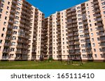 appartment buildings | Shutterstock . vector #165111410