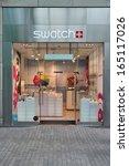 birmingham  uk   april 19 ... | Shutterstock . vector #165117026