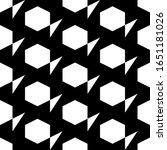 hexagons  triangles ornament.... | Shutterstock .eps vector #1651181026