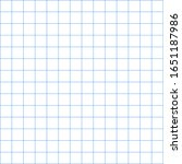 white graph paper with blue... | Shutterstock .eps vector #1651187986