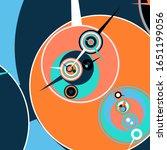 retro futuristic poster.... | Shutterstock .eps vector #1651199056