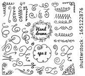 calligraphic illustration of...   Shutterstock .eps vector #165122876