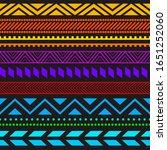 tribal ethnic seamless stripe... | Shutterstock .eps vector #1651252060