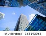 financial corporate building... | Shutterstock . vector #165143066