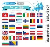 flag of europe. vector... | Shutterstock .eps vector #165149609