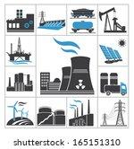 power icons | Shutterstock .eps vector #165151310