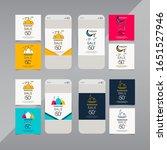 ramadan kareem vector template. ... | Shutterstock .eps vector #1651527946