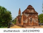 Ruins Of Wat Bandai Hin Was...
