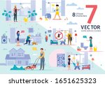 cleaning company  plumber and... | Shutterstock .eps vector #1651625323