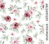 seamless floral texture ...   Shutterstock . vector #1651645789