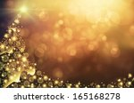 abstract  xmas background with... | Shutterstock . vector #165168278