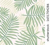 tropical seamless pattern with... | Shutterstock .eps vector #1651704286