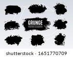 black and white grunge... | Shutterstock .eps vector #1651770709