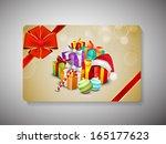merry christmas celebration...   Shutterstock .eps vector #165177623