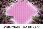 bright luminous rhombus of... | Shutterstock .eps vector #1651817170