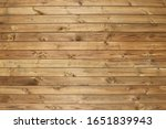 Dark Brown Wooden Fence For...