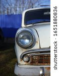 Old Retro  Soviet Automobile ...