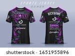 t shirt e sport design template ... | Shutterstock .eps vector #1651955896