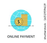 online worldwide payment color...