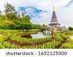 The Royal Stupa And Pagoda...