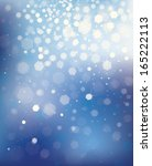 vector blue background with... | Shutterstock .eps vector #165222113