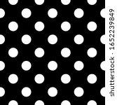 seamless pattern. big dots... | Shutterstock .eps vector #1652239849