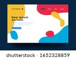 landing page template design....