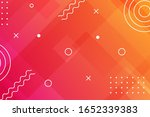 abstract geometric background.... | Shutterstock .eps vector #1652339383
