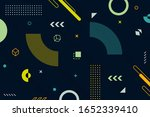 abstract geometric background... | Shutterstock .eps vector #1652339410